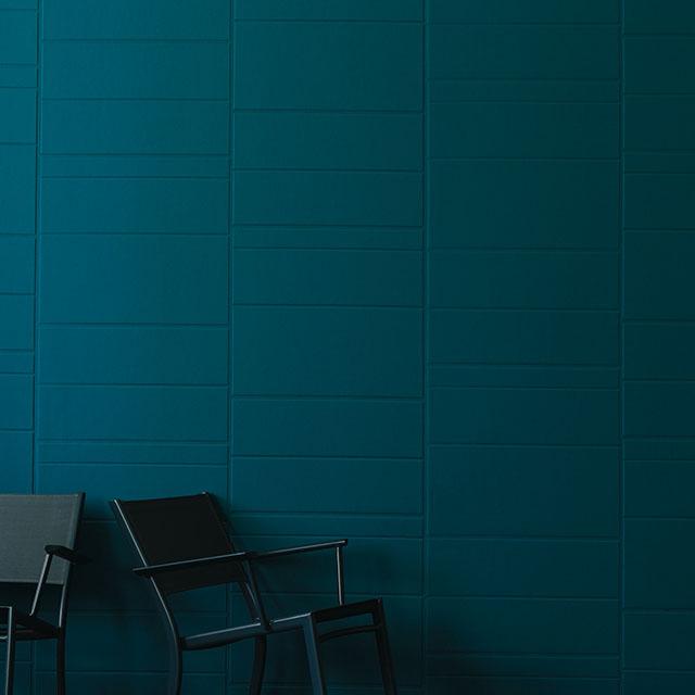 Revêtement mural acoustique Vinacoustic Polyform en vinyle enduit micro perforé sur molleton acoustique. αw 0.25